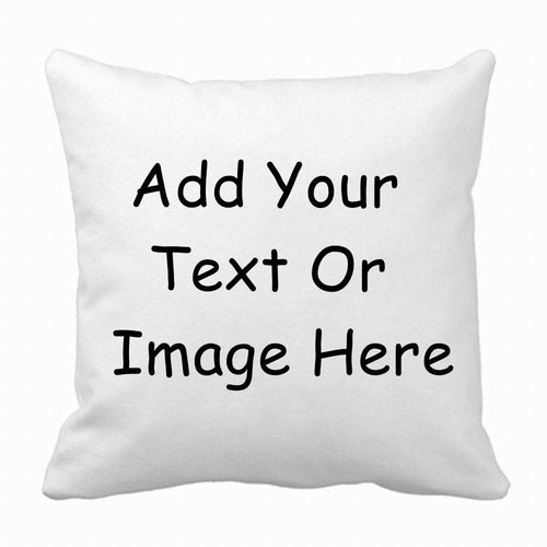 Jics Lamb Decorative Throw Pillow Case for Couch,Sofa or Bed Set,Custom Design Photo or Text Throw Pillow Covers for Personalized Gifts
