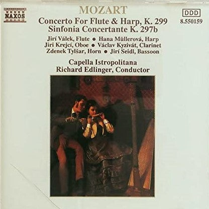 Mozart Wolfgang Amadeus - Concerto for flute and harp, KV 299 - Sinfonia Concertante KV. 297b