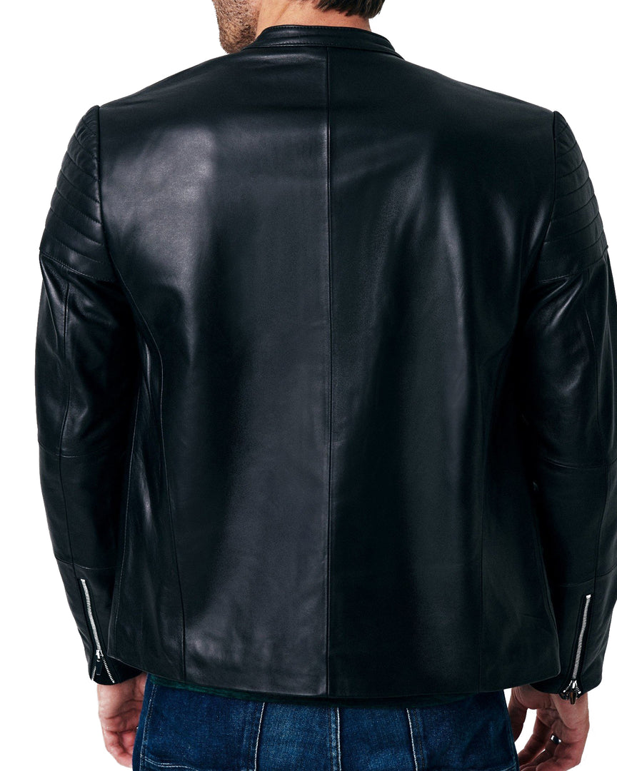 XANDER Leather Biker Jacket
