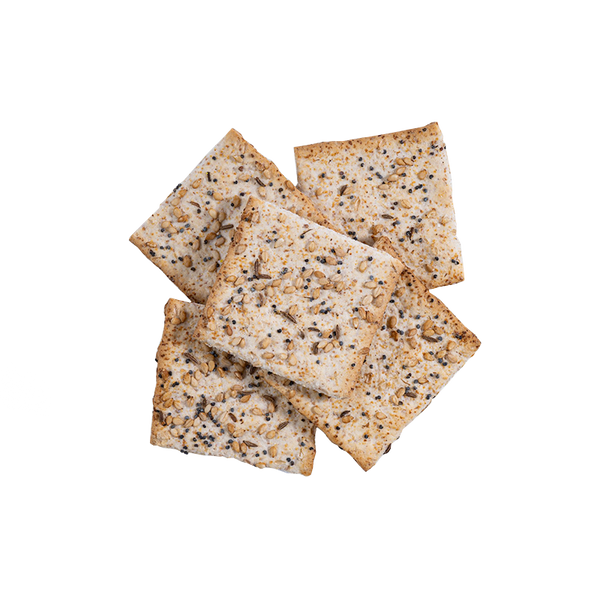 5 Flatbread Everything Crackers