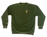 Stolen From Africa Gold Crewneck Sweater (Olive Green)