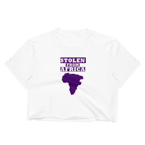 Stolen From Africa Women's Crop Top