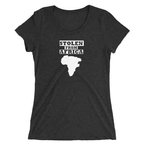 Stolen From Africa Ladies' short sleeve t-shirt