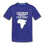 Stolen From Africa Kids' Premium T-Shirt - royal blue