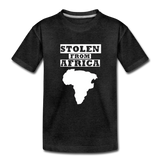 Stolen From Africa Kids' Premium T-Shirt - charcoal gray