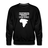 Stolen From Africa Men's Premium Sweatshirt - black