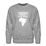 Stolen From Africa Men's Premium Sweatshirt - heather gray