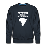 Stolen From Africa Men's Premium Sweatshirt - navy