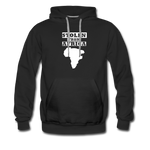 Stolen From Africa Men's Premium Hoodie - black