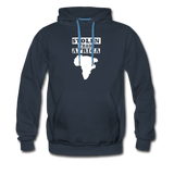 Stolen From Africa Men's Premium Hoodie - navy