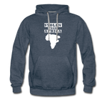 Stolen From Africa Men's Premium Hoodie - heather denim