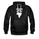 Stolen From Africa Men's Premium Hoodie - charcoal gray