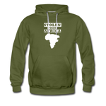 Stolen From Africa Men's Premium Hoodie - olive green