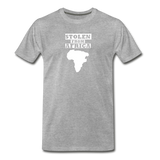 Stolen From Africa Men's Premium T-Shirt - heather gray