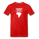 Stolen From Africa Men's Premium T-Shirt - red