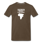Stolen From Africa Men's Premium T-Shirt - noble brown