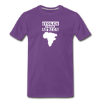 Stolen From Africa Men's Premium T-Shirt - purple