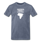 Stolen From Africa Men's Premium T-Shirt - heather blue
