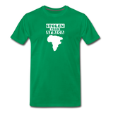 Stolen From Africa Men's Premium T-Shirt - kelly green
