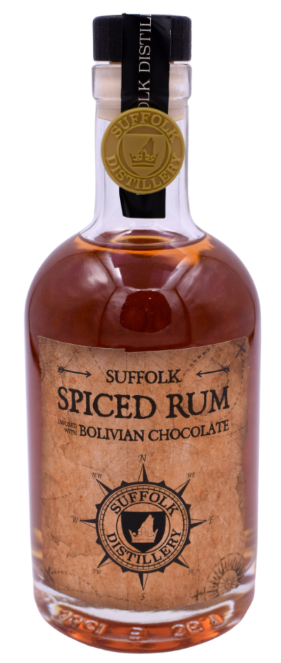 Suffolk Distillery - Spiced Rum Bolivian Chocolate 70cl 40% VOL