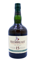 Load image into Gallery viewer, Redbreast 15yo / 46% / 70cl