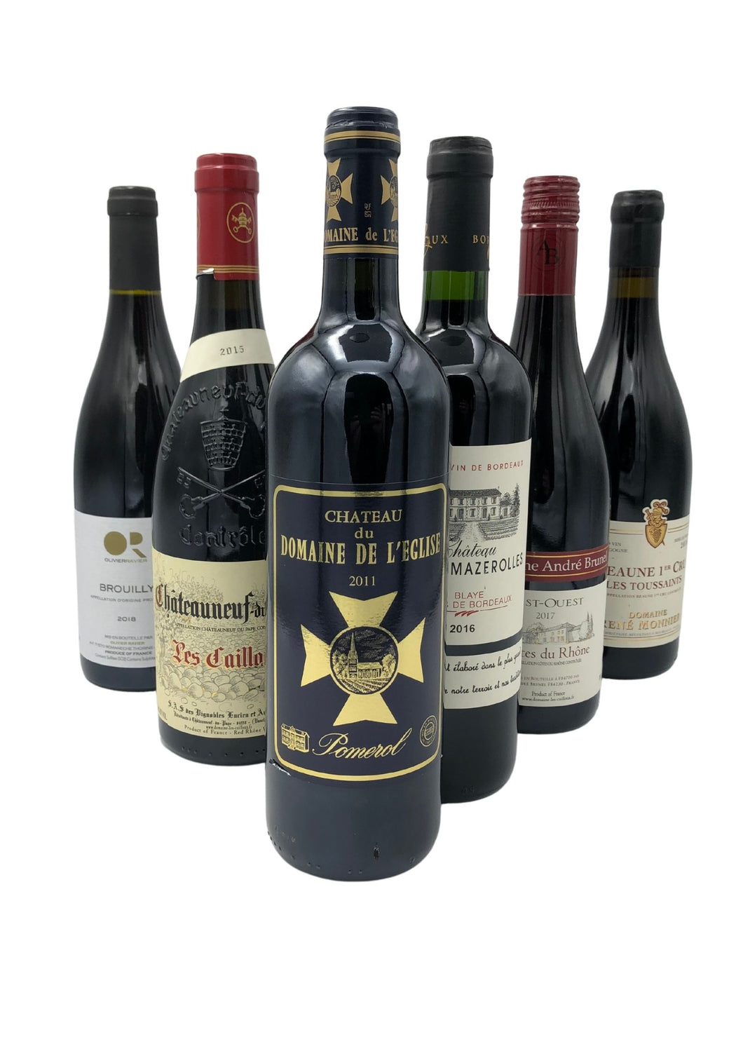 Mixed Case of 6 Classic French Reds