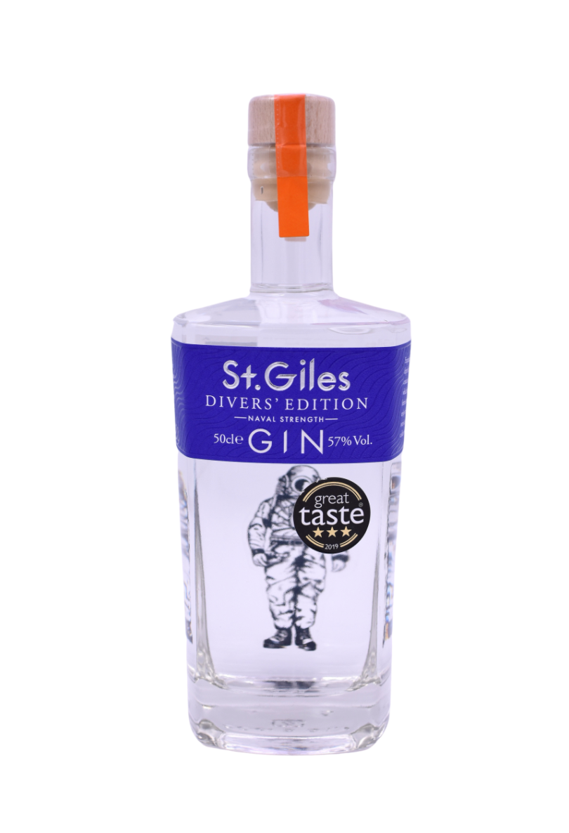 St Giles Divers Edition Gin 50cl 57% VOL