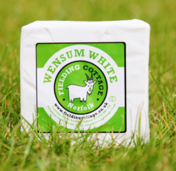 Wensum White Goats Cheese - Fielding Cottage, Norfolk 120g