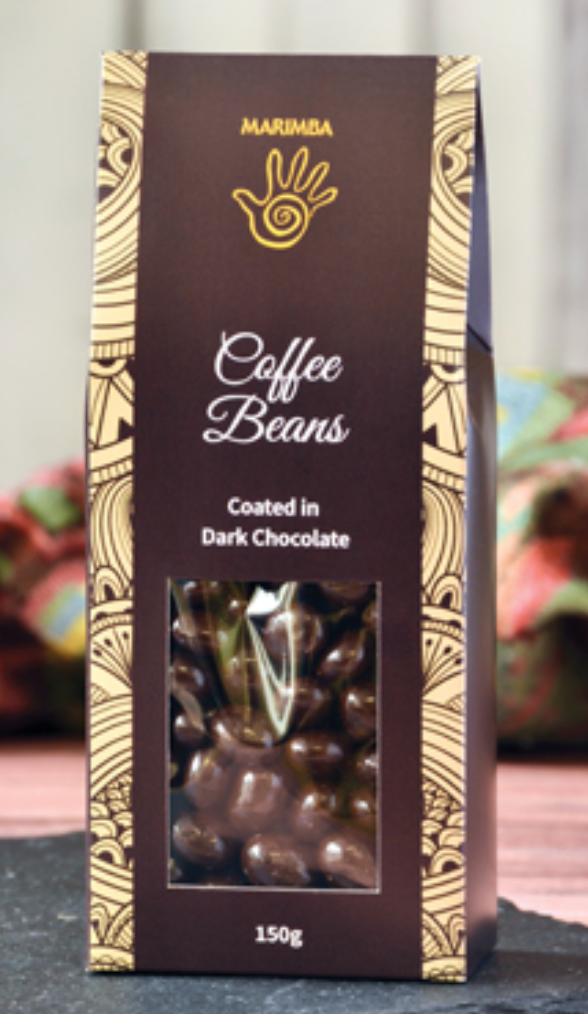 Coffee Beans, coated in Dark Chocolate 150g