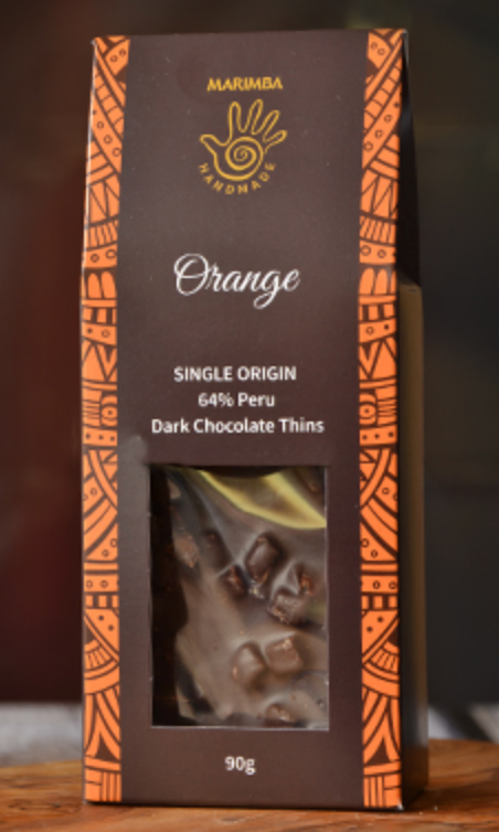 Orange Chocolate Thins 90g