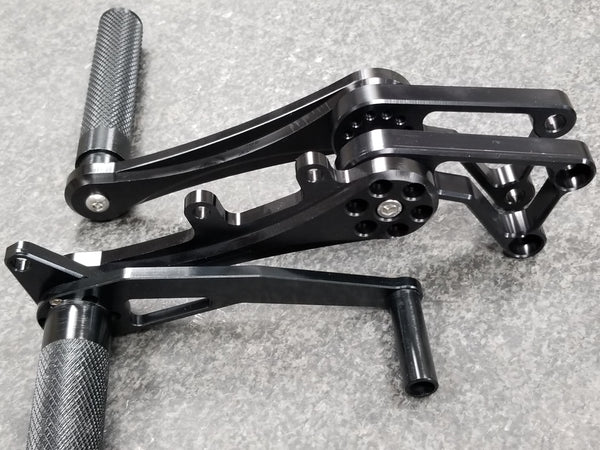 Unit 5 Adjustable Rearsets '03-'04 GSXR 1000