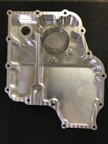 Rick's Custom Cycle Brutal Perfomance Hayabusa Wedge Oil Pan