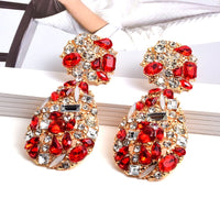 Bejeweled Drop Earrings