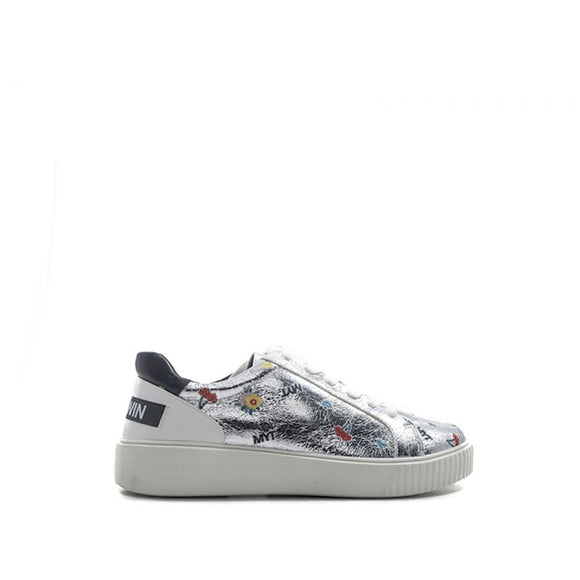 Sneakers MY TWIN TWINSET argento basse