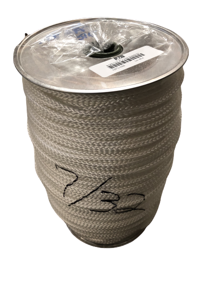 "7/32"" X 1000' Diamond Braid Low Stretch Rope"