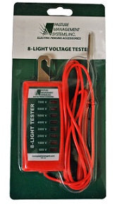 8 Light Standard Duty Fence Tester