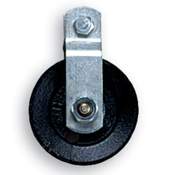 "3 1/2"" Cast Iron Pulley W/ Bearing"