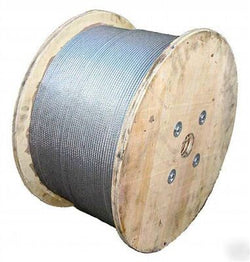 "1/8"" X 500' Prime Cable 7 X 19"