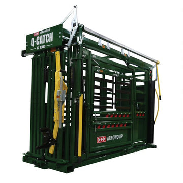 Arrowquip 8700 Manual Q-Catch Chute W/ Vet Cage