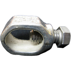 Galvanized Ground Rod Clamps (3 Pack)