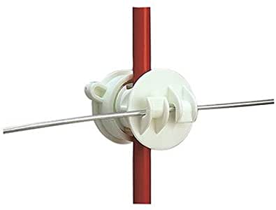 Screw-On Rod Fence Insulator