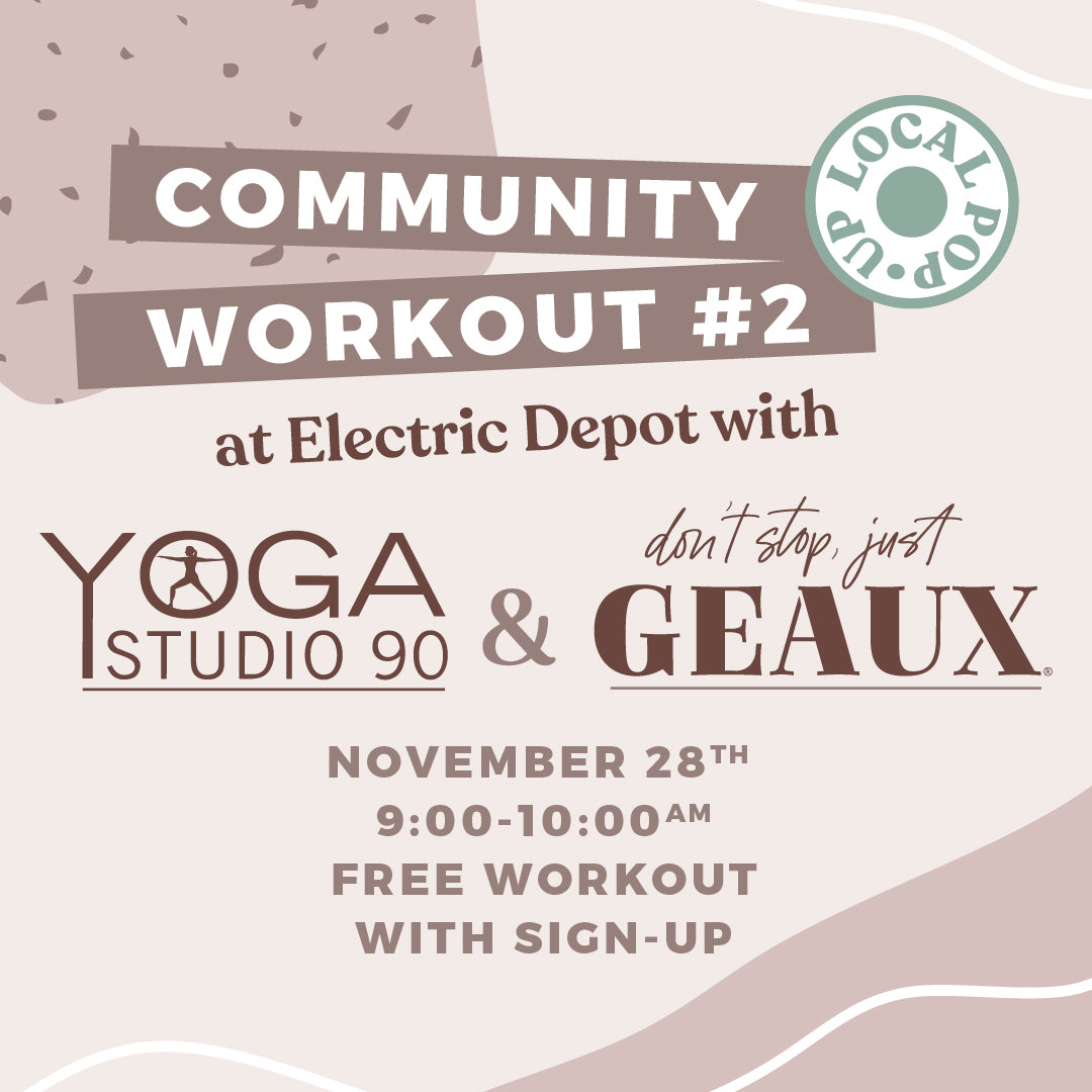 Don't Stop Just Geaux x Yoga Studio 90 Workout #2