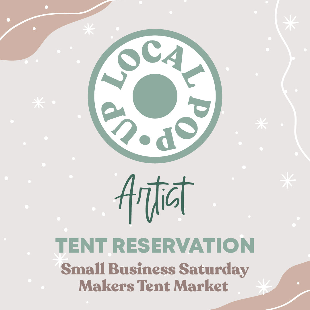 2020 Local Pop-Up Artist Tent Reservation