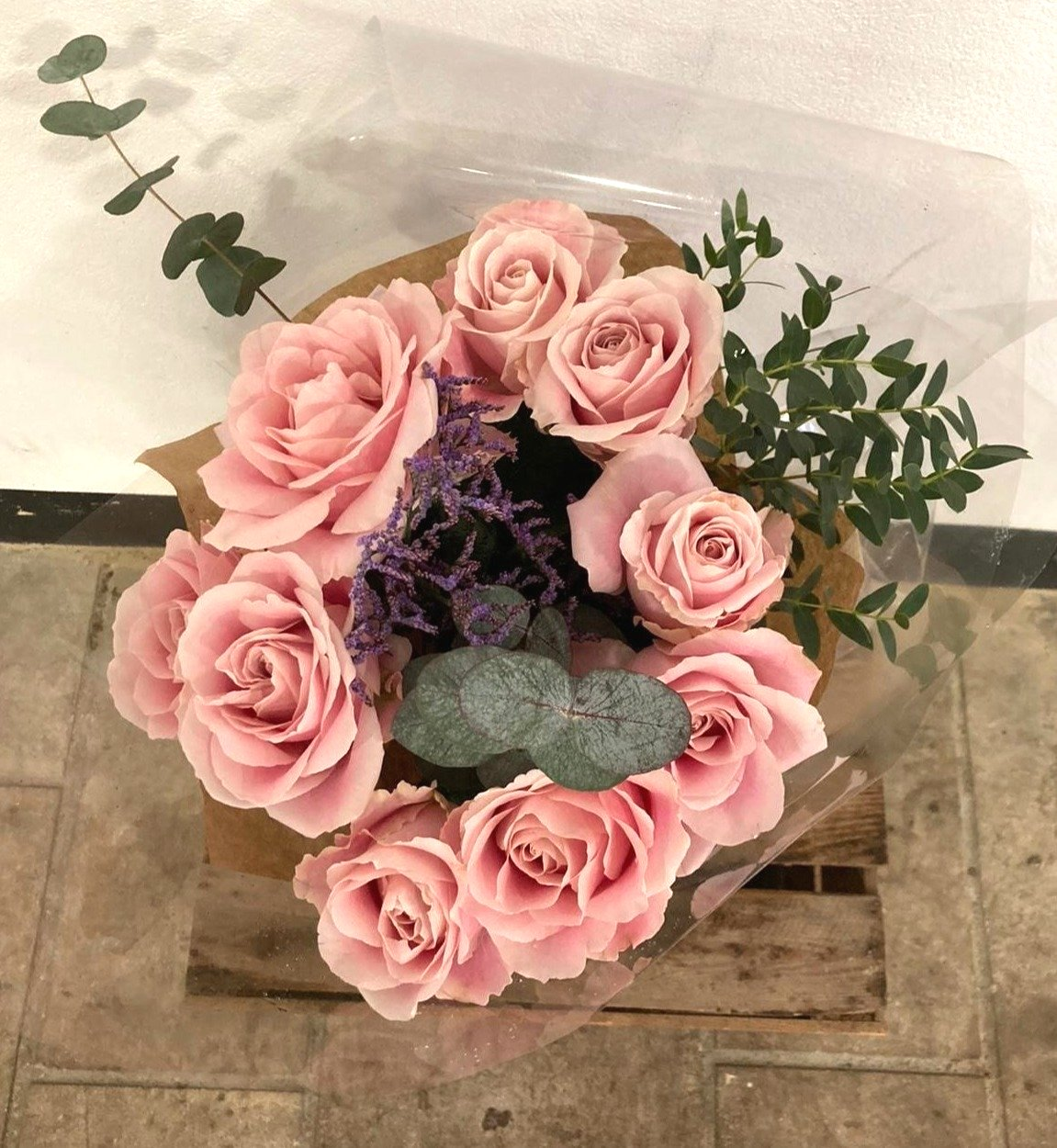 Pink Avalanche Rose Bouquet