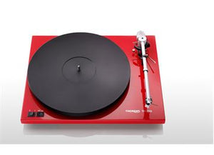 Thorens TD-203 Turntable (Red)
