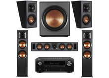 Load image into Gallery viewer, KLIPSCH R-820F AND DENON AVRX2600H 5.1 SYSTEM