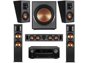 KLIPSCH R-820F AND DENON AVRX2600H 5.1 SYSTEM