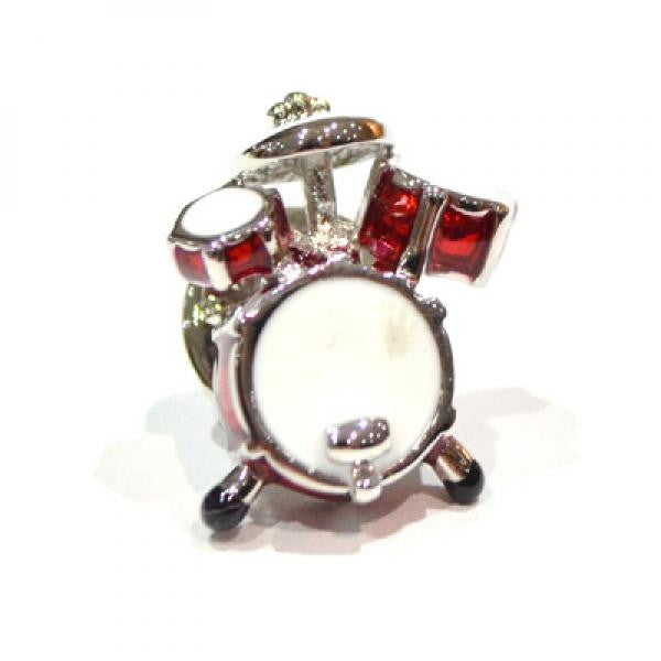Red Drum Kit Lapel Pin Badge (X2Ajtp46)Red Drum Kit Lapel Pin Badge (X2Ajtp46)
