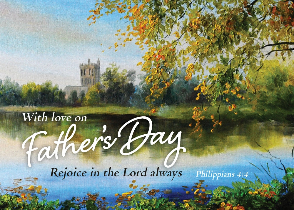 Fathers Day - Church Postcard - 20 PkFathers Day - Church Postcard - 20 Pk