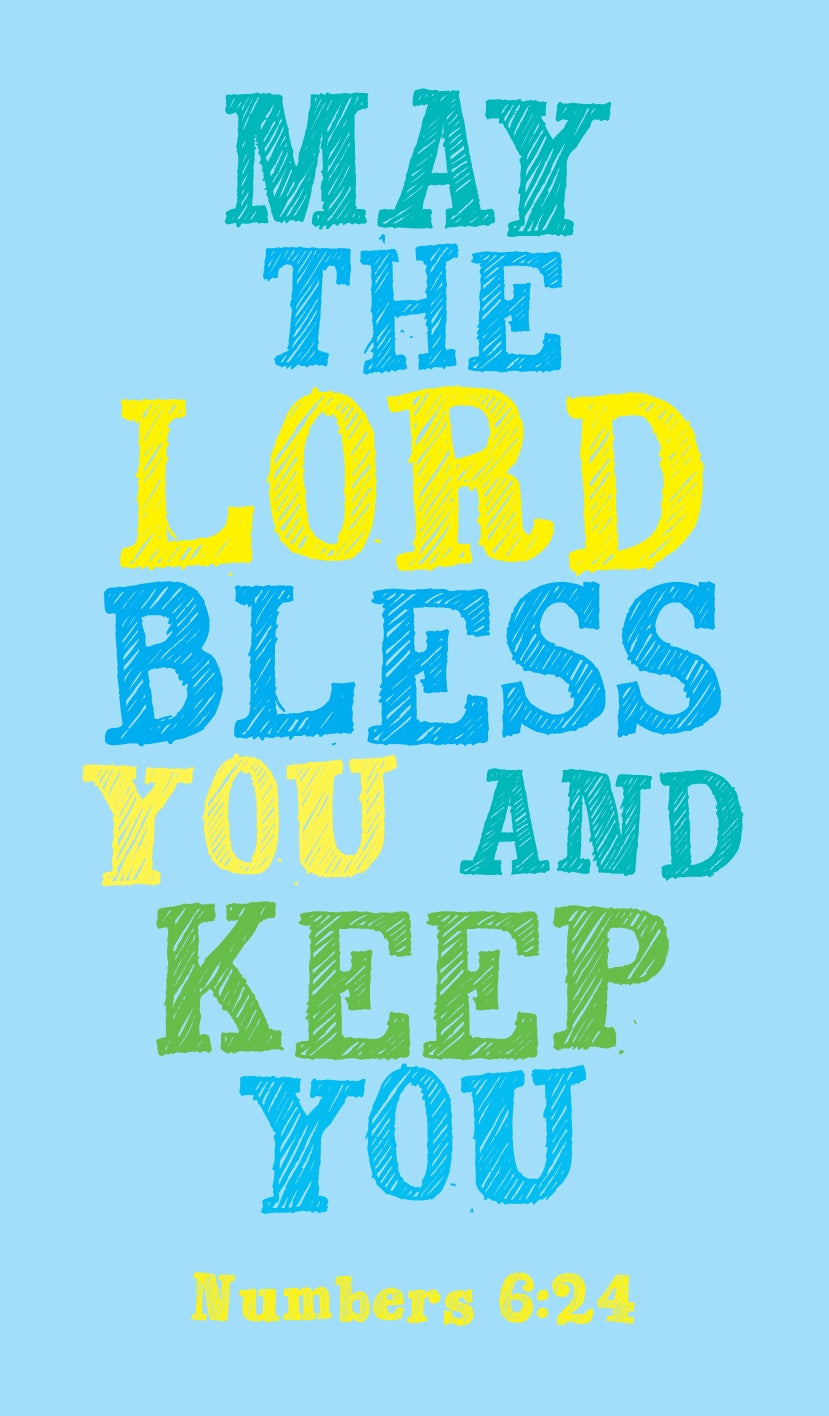 Prayer Card -May The Lord Bless YouPrayer Card -May The Lord Bless You